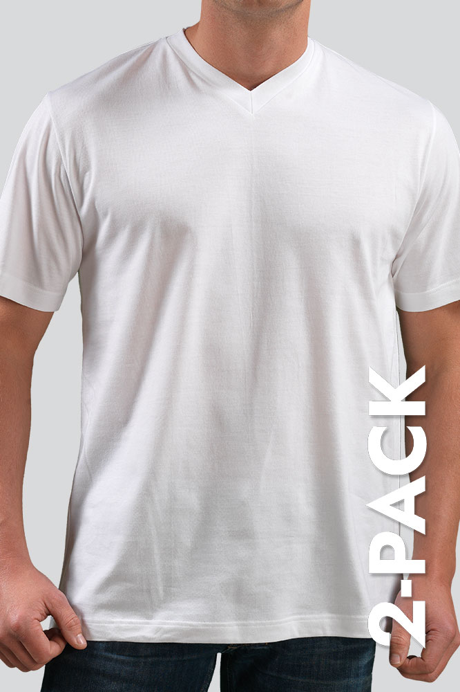 T-Shirt V-Neck 2-Pack 208151