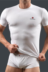 Cotton R-neck T-shirt 061