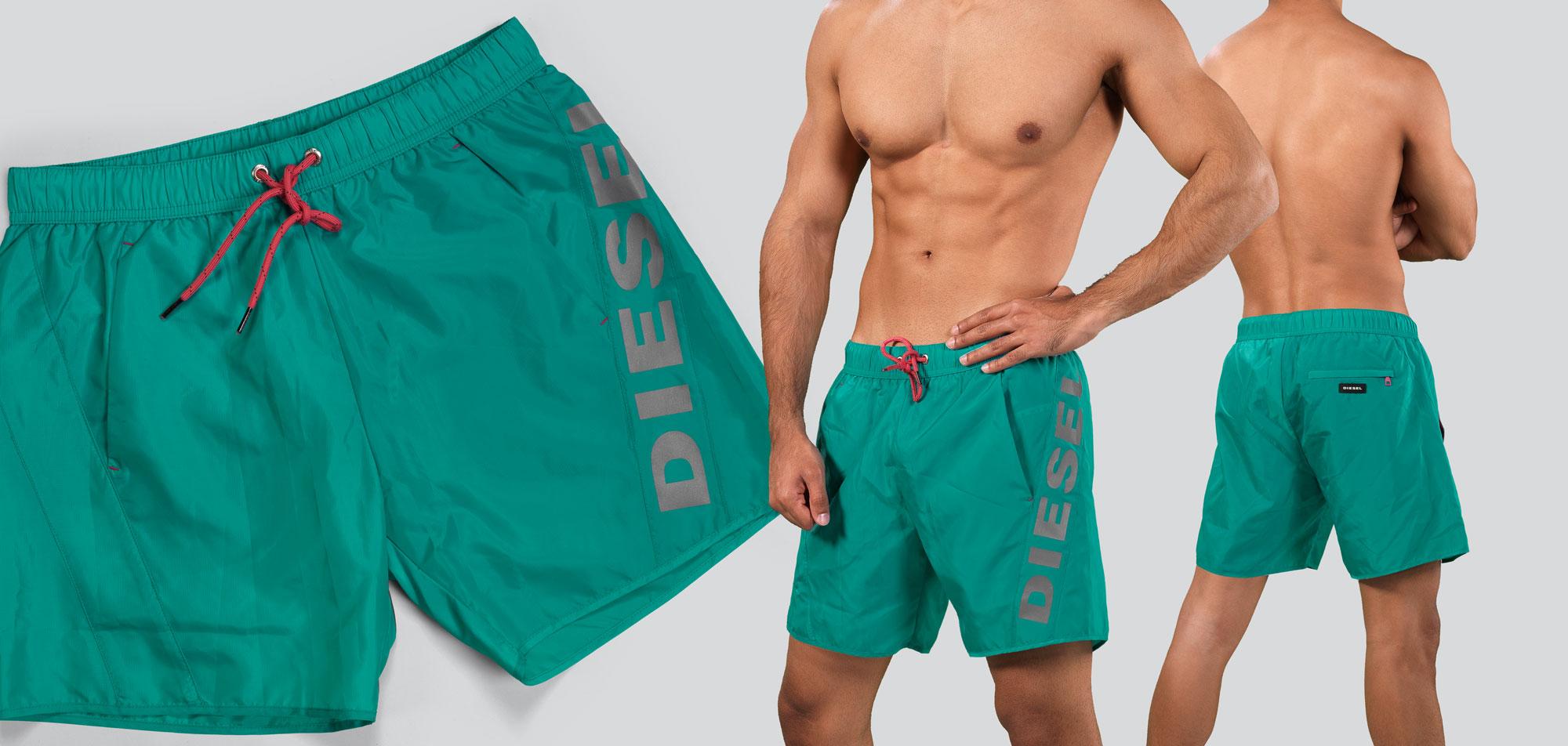 Diesel Seasprint Swim Short LATA-Turquoise (107)-XL
