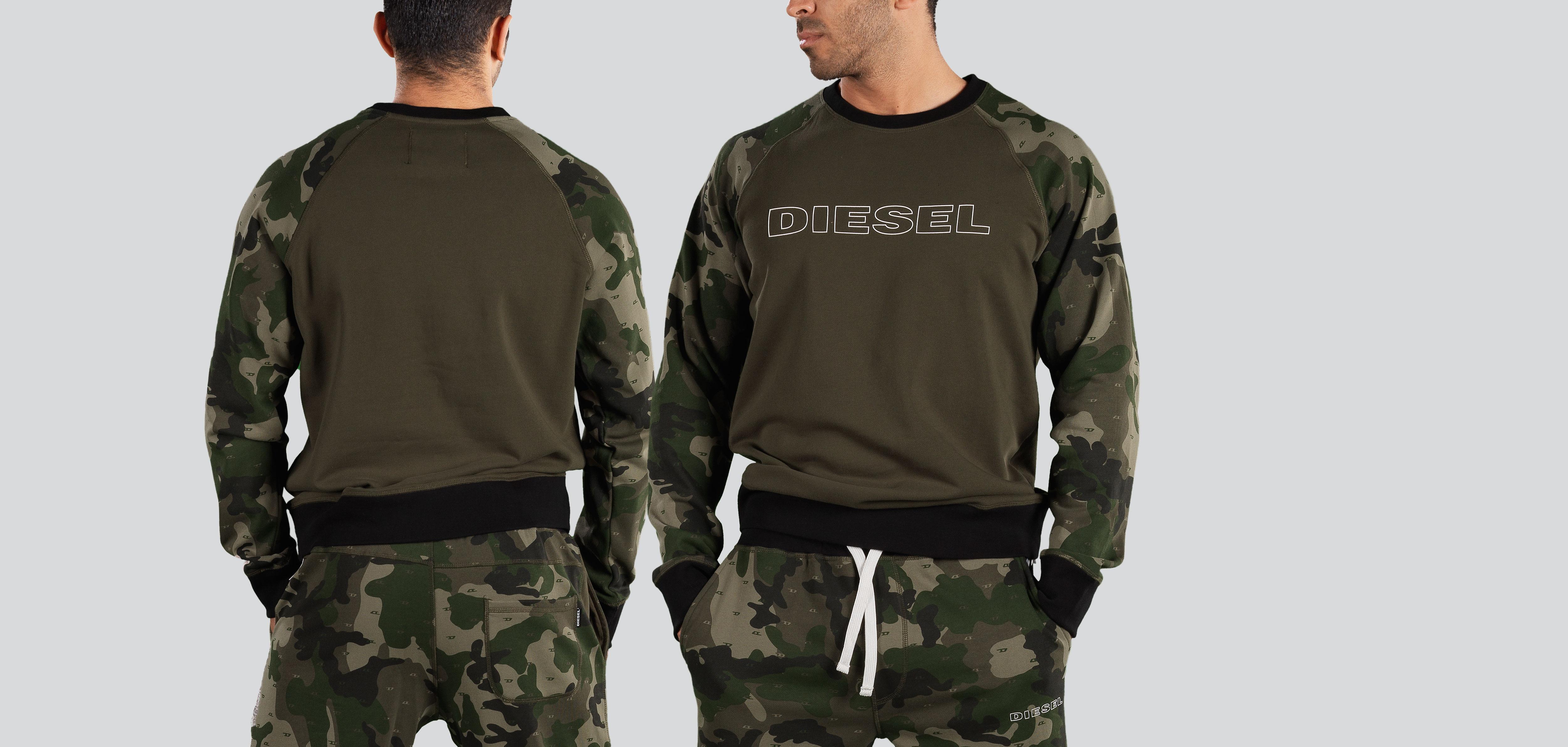 Diesel UMLT-Brian Sweater-Camouflage (256)-M