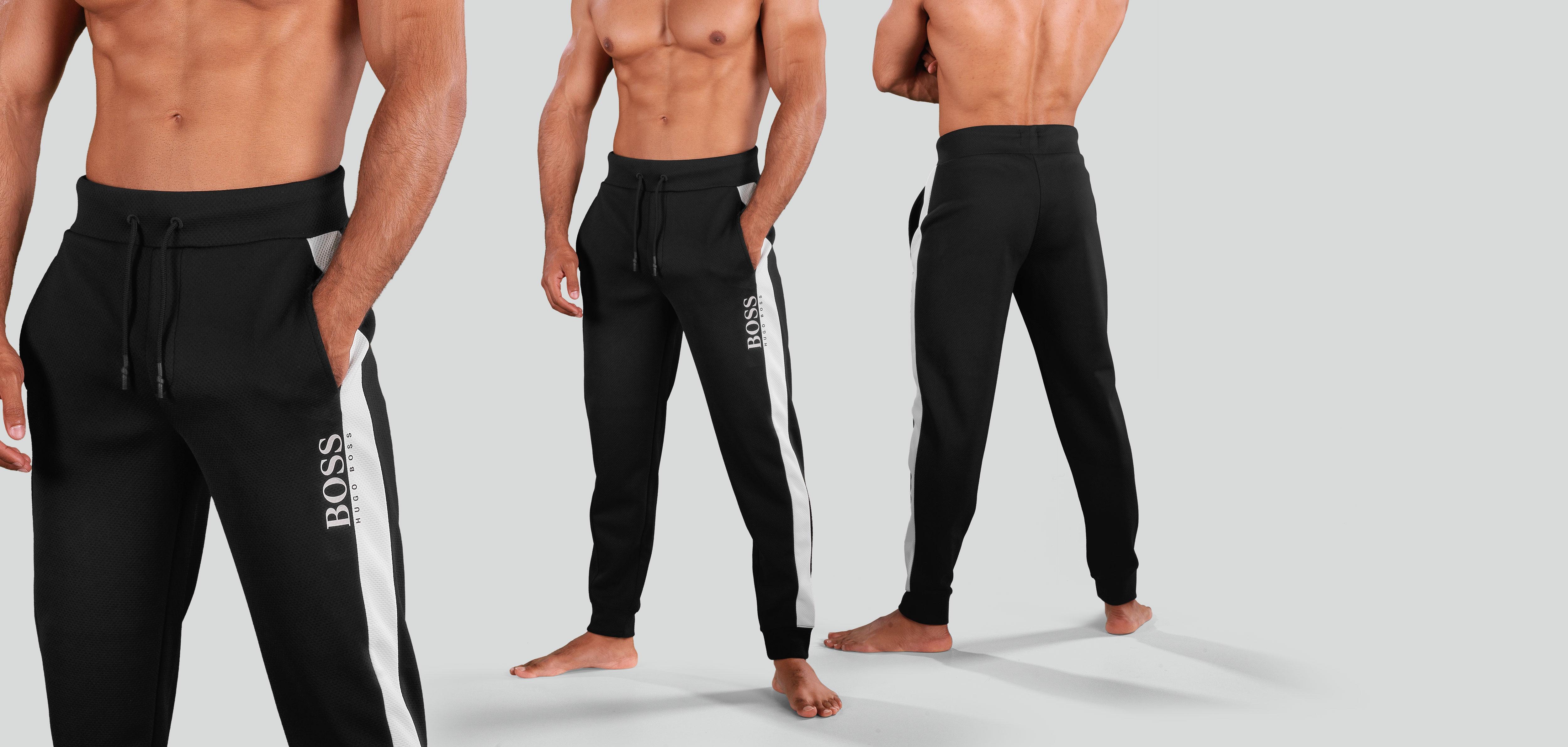 Boss Fashion Pants 377-Zwart (050)-M