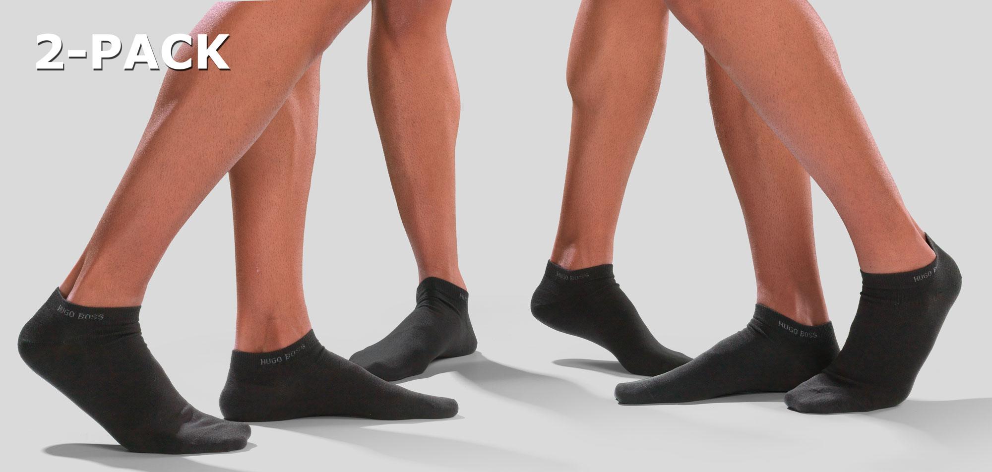 Boss AS Uni Socks 2-Pack 443-Wit (000)-L43-46